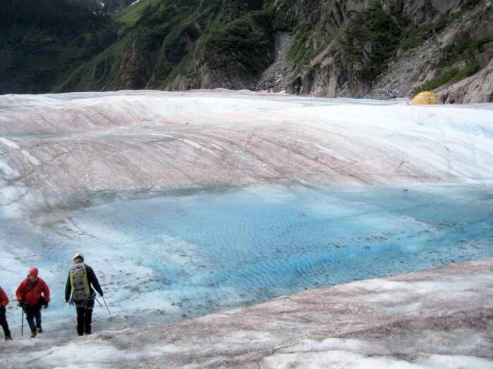 Mendenhall Glacier in Juneau