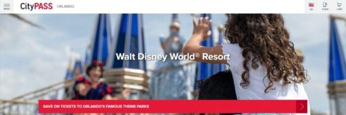 CityPASS Walt Disney World Resort