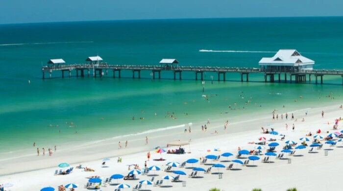 Cleawater beach as one of the best tampa bay attractions