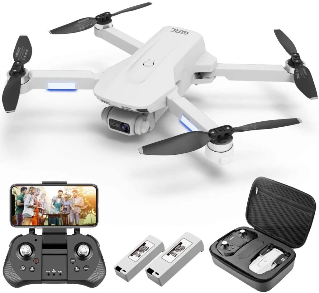 Nice Drone with its accessories