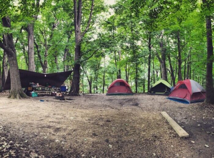 Frontenac State Park camping