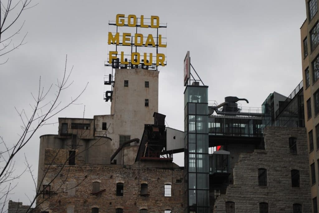 Historic building Minneapolis