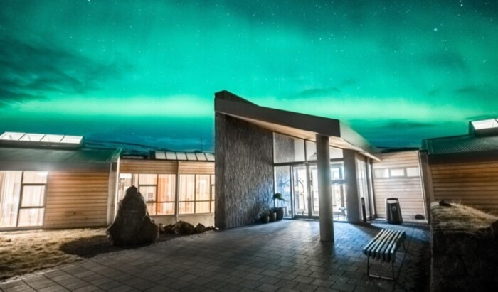 Hotel Husafell is one of the best hotels in Iceland for nothern lights.