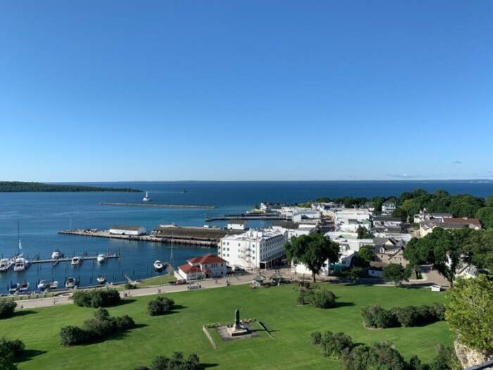 Mackinac Island is a summer playground with some of the best hotels in the Midwest.