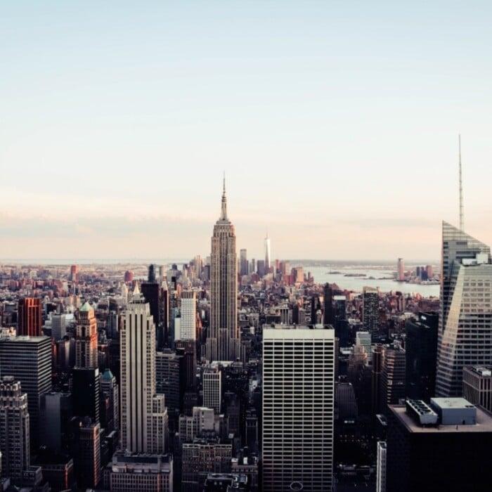 Beautiful skyline of NYC