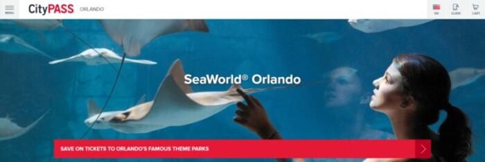 Orlando CityPASS Seaworld