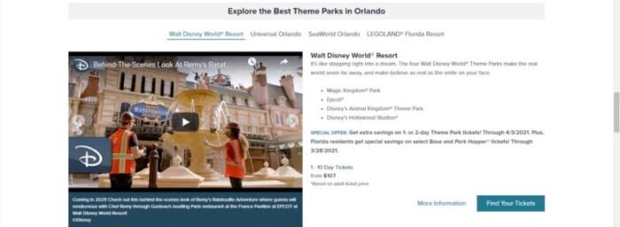 Explore Theme Parks in Orlando