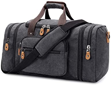 Types of travel bags: Plambag Canvas Duffle Bag