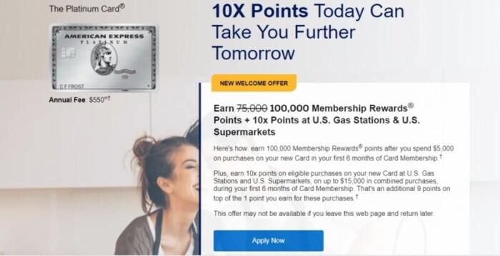 Platinum Card Membership Rewards