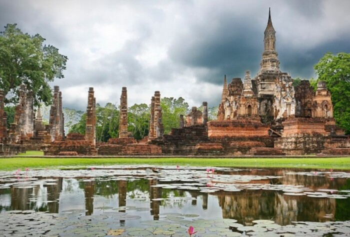 Sukothai is one of the best places to visit in Thailand because of its rich history.