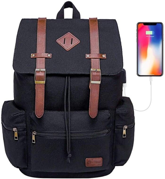 Modoker vintage travel backpack
