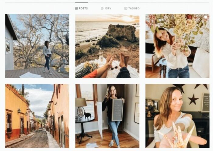 Annette White Instagram account