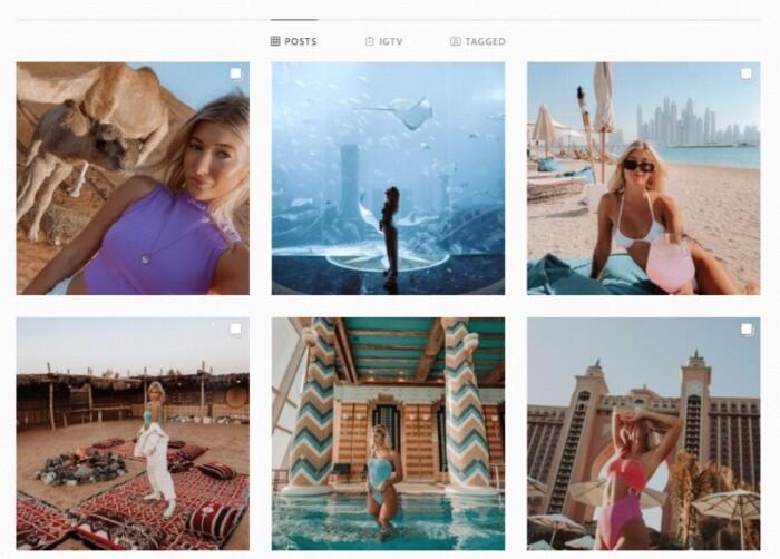 Gypsea Lust Instagram account