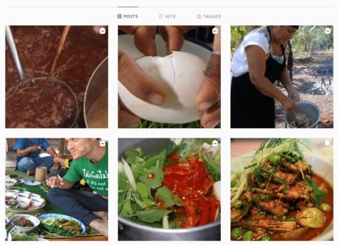 Mark Weins Instagram account