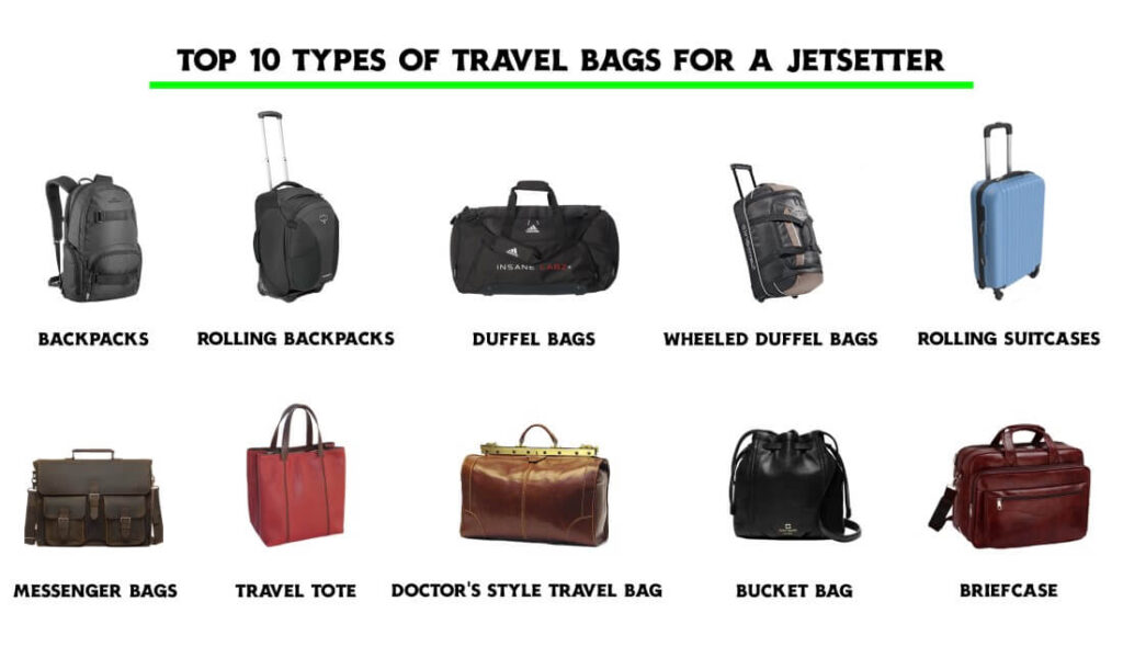 Types of Bags for Travel