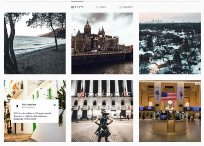 Via Travelers Instagram account
