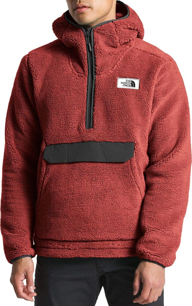 the north face campshire hoodie model