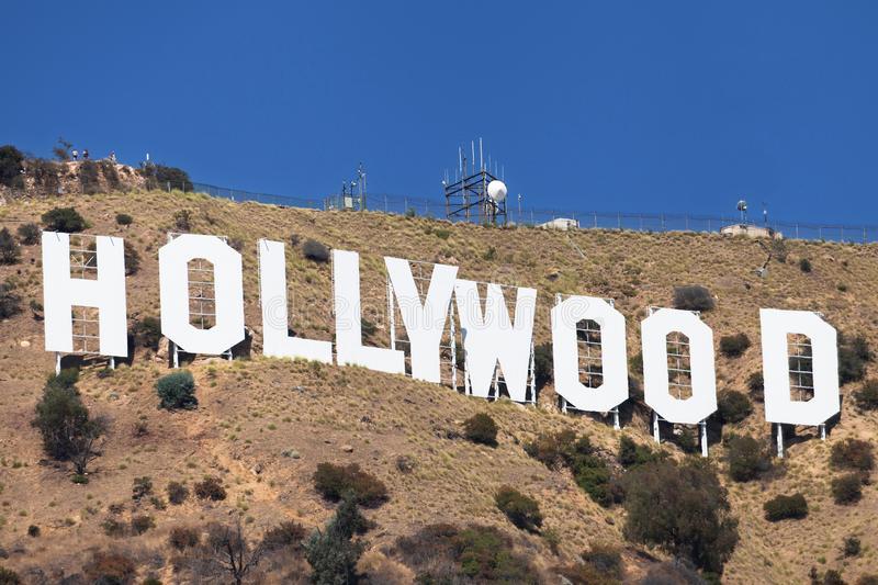 Hollywood Sign royalty free image