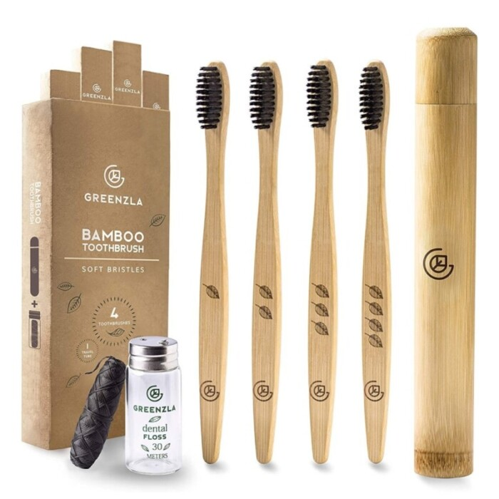 Greenzla Bamboo Toothbrush