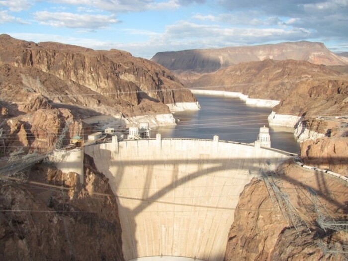 Seeing the Hoover Dam is one of the things to do at Lake Mead.