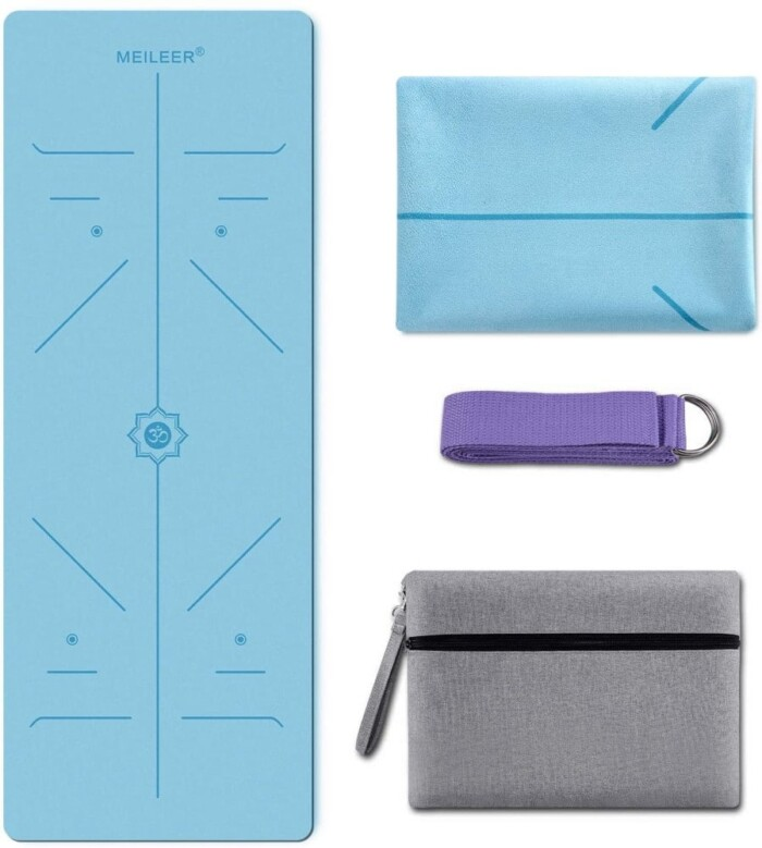 KUYOU Foldable Travel Yoga Mat