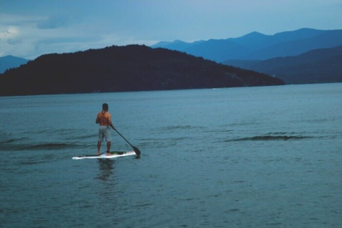 Lake Mead Paddle Boarding