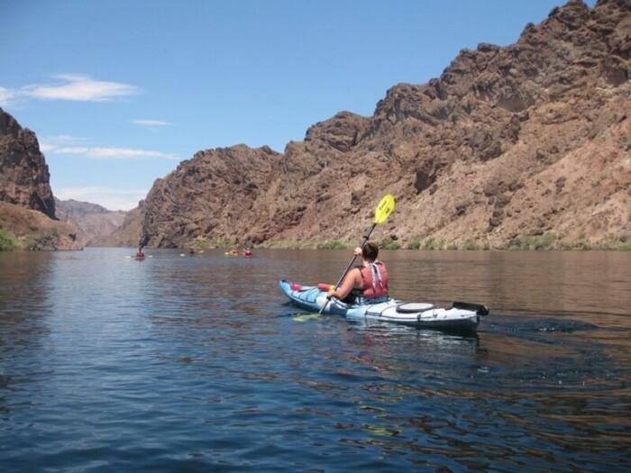 Lake Mead Kayaking