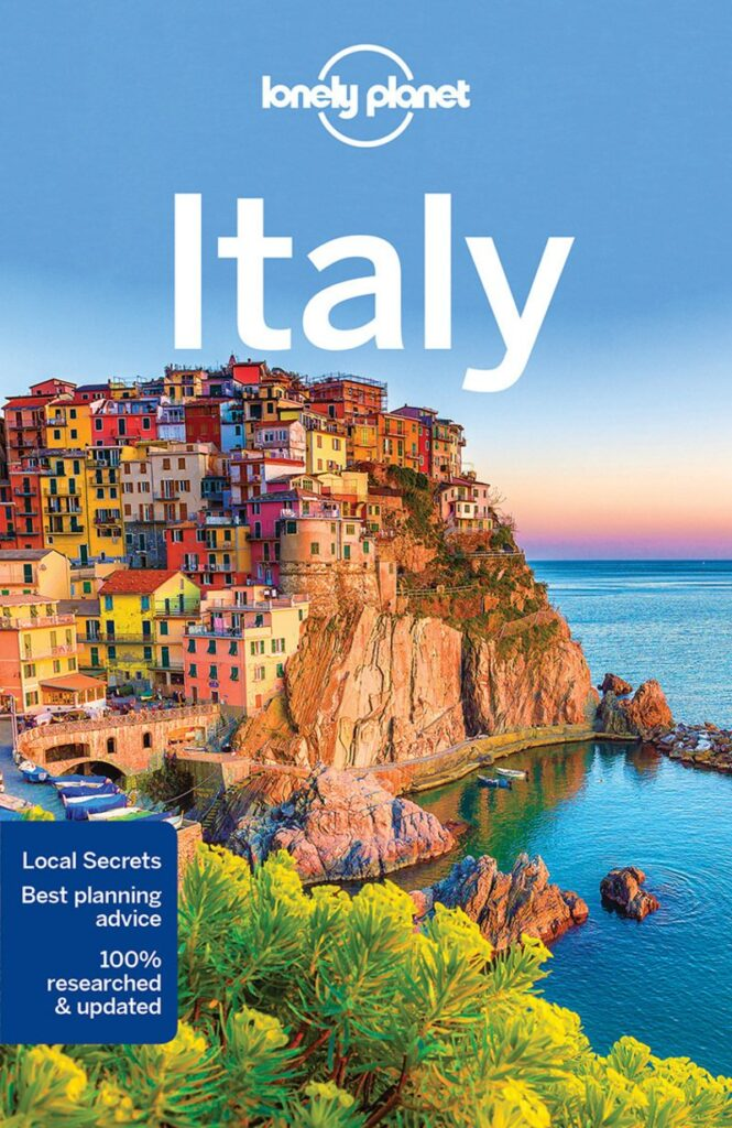 Lonely planet Italy cover