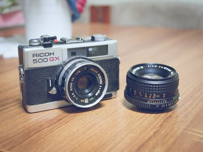 camera and second lens