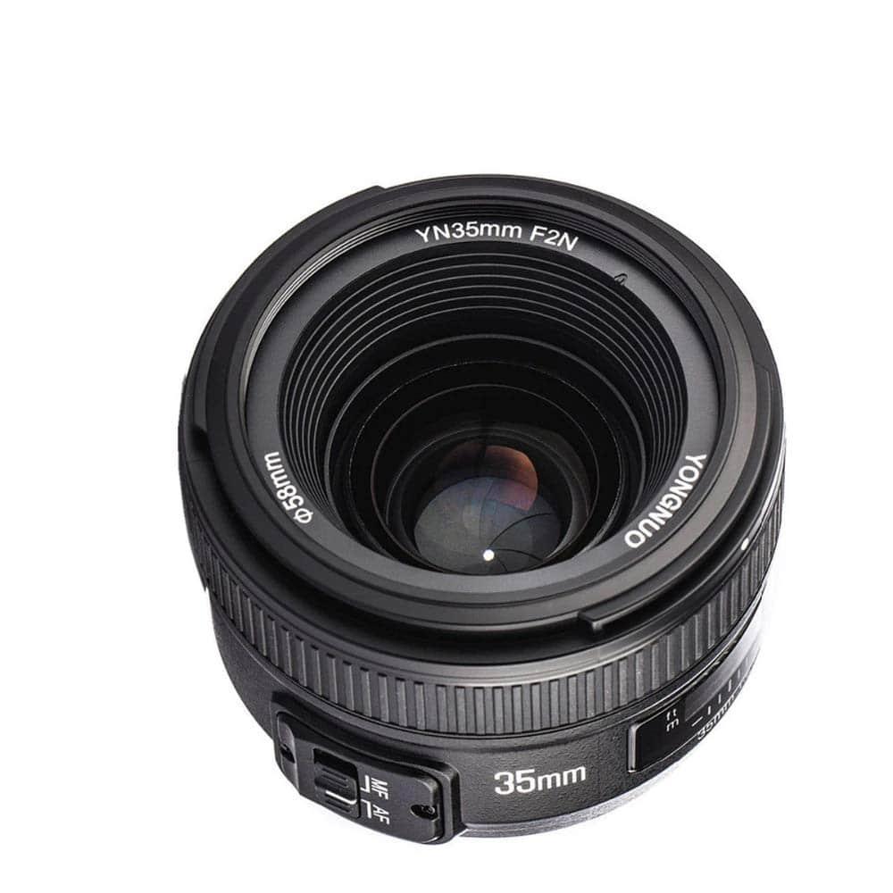 yongnuo wide-angle lens