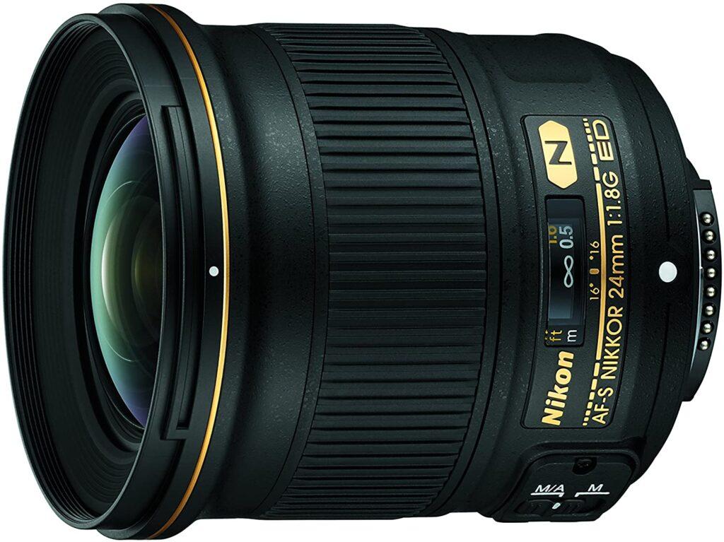 nikon wide-angle lens