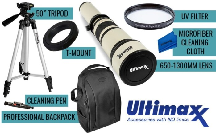 ultimaxx telephoto lens