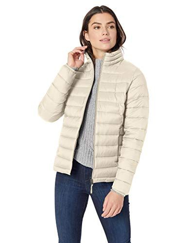 Water-Resistant Packable Puffer Coat