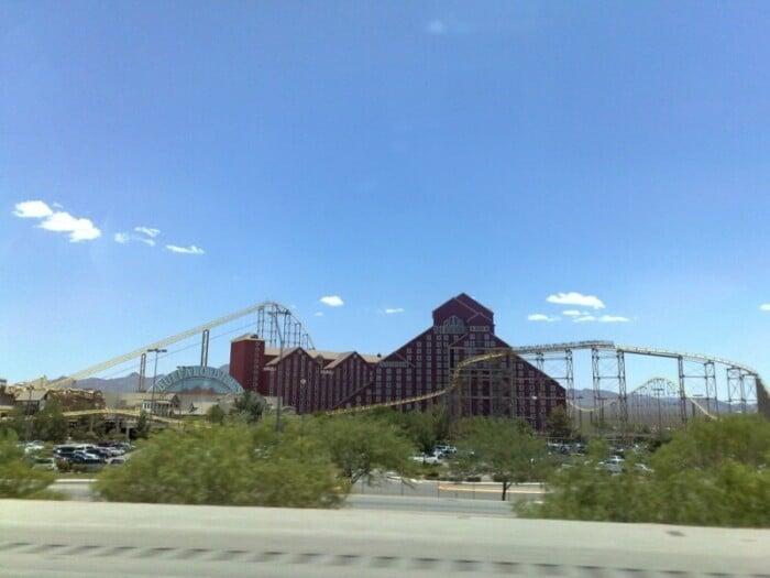 See the Desperado Roller Coaster