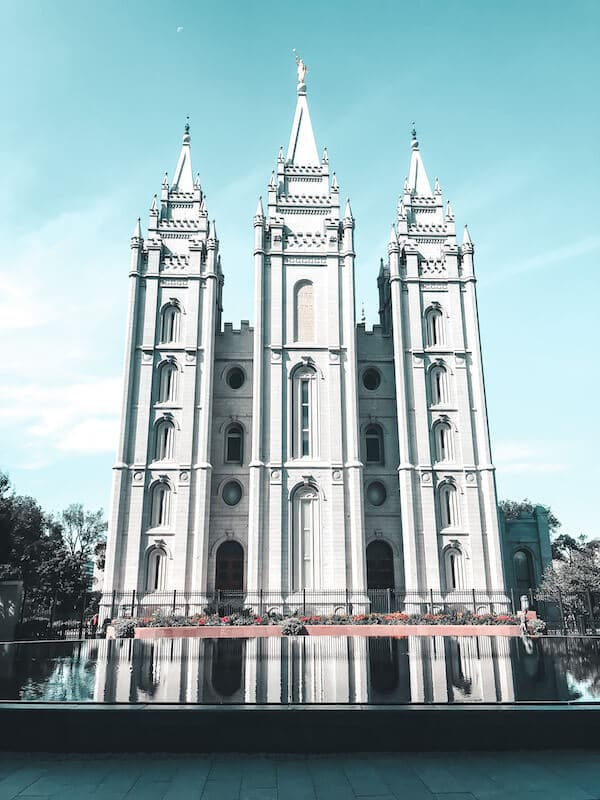 Salt Lake Temple - Church of Latter Day Saints