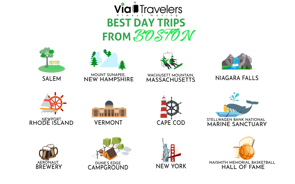 Best Day Trips from Boston, Massachussets