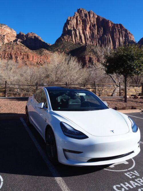 Electric Vehicle Road Trip