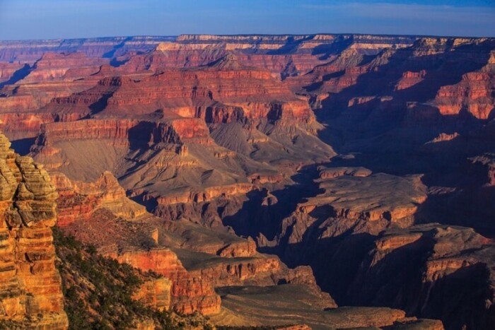 Dawn on the South Rim of the Grand Canyon