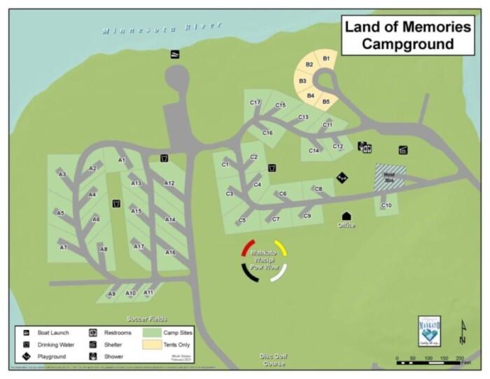 Land of Memories Park of Mankato