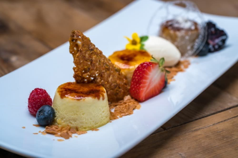 One of the sumptuous dessert available at Leoness Cellars Restaurant