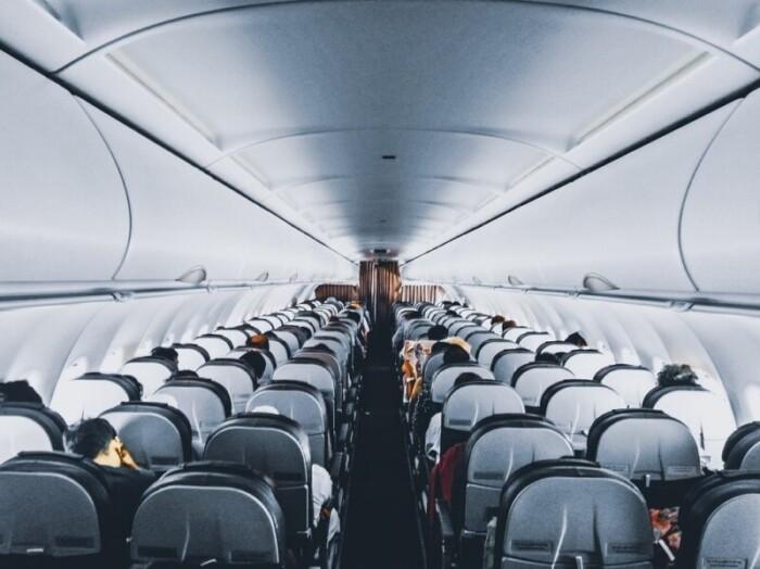 Passengers in long flight