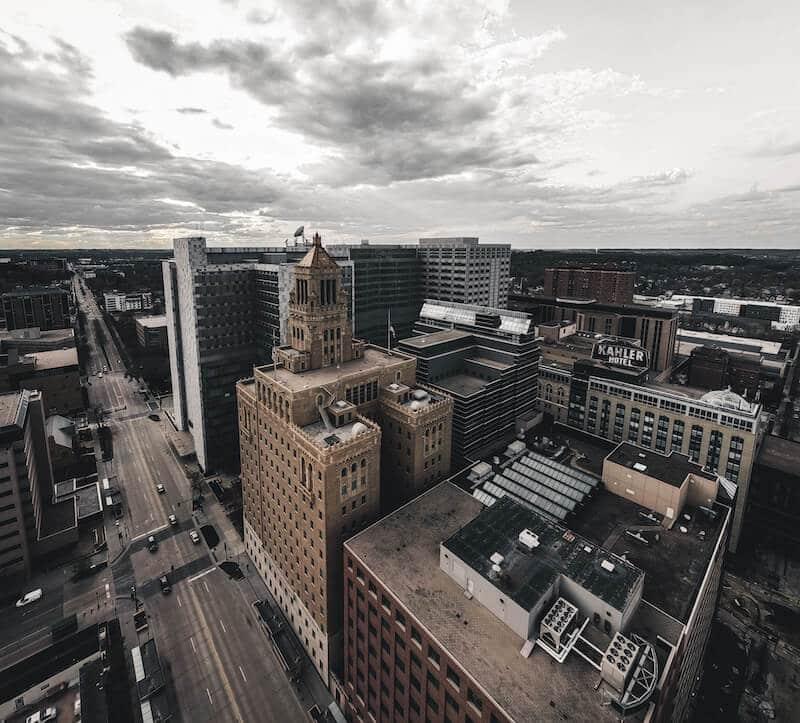 Rochester Minnesota Skyline