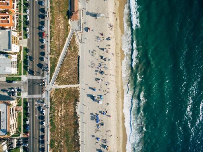 South California beach