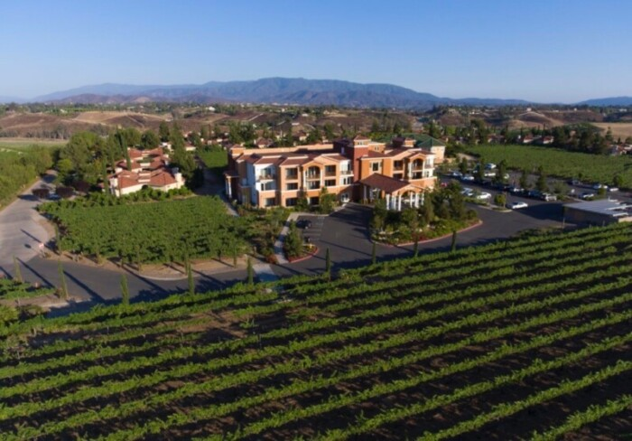 South Coast Winery is also a world class resort and spa.