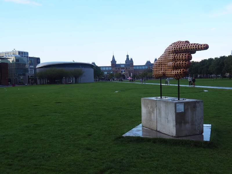 Van Gogh Museum at Museumplein