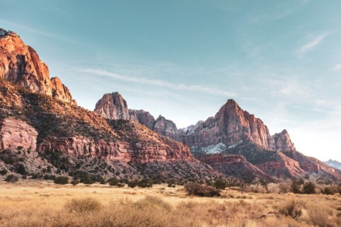 Zion National Park Canyons