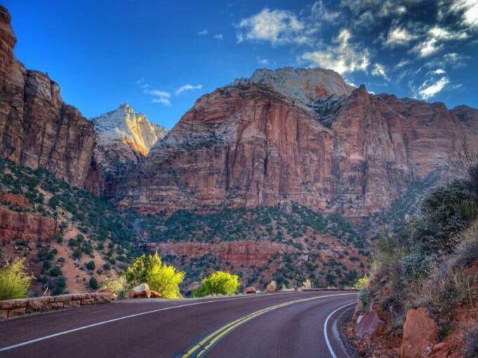 Zion National Park roads
