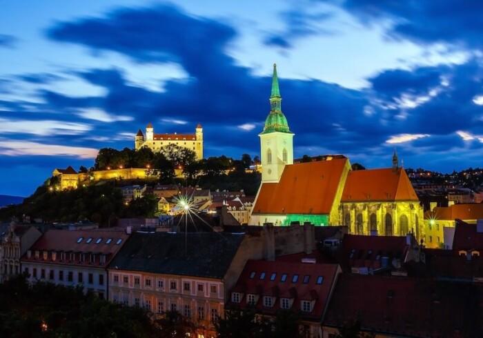 Bratislava at Night - Things to do in Bratislava