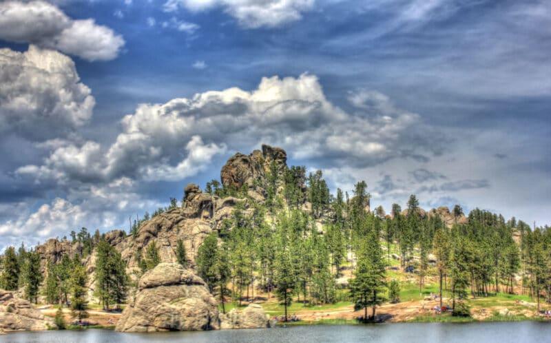Custer State Park lake