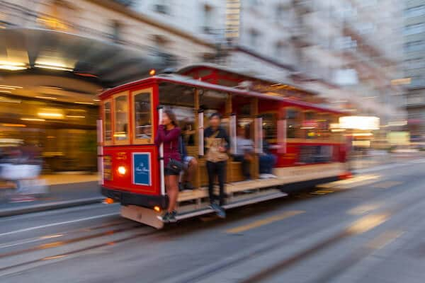 San Francisco Tram Ride